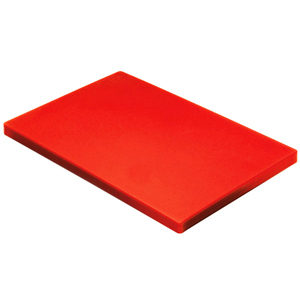 Colour Coded Chopping Board 1inch Red - Raw Meat
