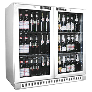 Osborne eCold 250ES Hinged Door Bottle Cooler Stainless Steel