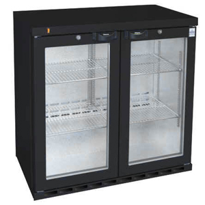 Osborne eCold 250EW Hinged Door Wine Bottle Cooler Black