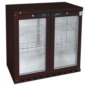 Osborne eCold 250EW Hinged Door Wine Bottle Cooler Brown