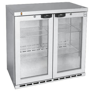 Osborne eCold 250EW Hinged Door Wine Bottle Cooler Stainless Steel