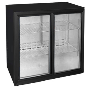 Osborne eCold 250EW Sliding Door Wine Bottle Cooler Black