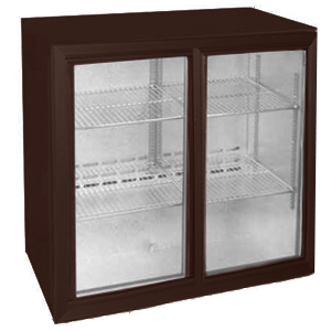 Osborne eCold 250EW Sliding Door Wine Bottle Cooler Brown