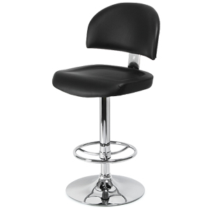 Casino Bar Stool Black