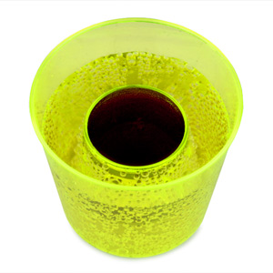 Reusable Bomber Cups Neon Yellow 3.9oz / 110ml