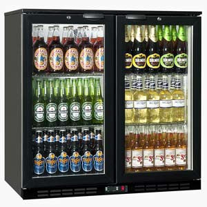 Rhino GreenSense Cold 900H Glass Hinged Door Bottle Cooler