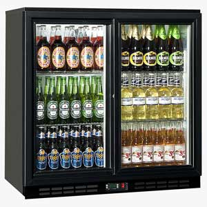 Staycold GreenSense Cold900S Glass Sliding Door Bottle Cooler
