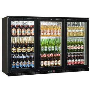 Rhino GreenSense Cold 1350H Glass Hinged Door Bottle Cooler