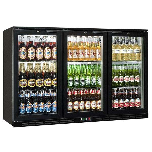 Rhino Greensense Cold 1350h Glass Hinged Door Bottle