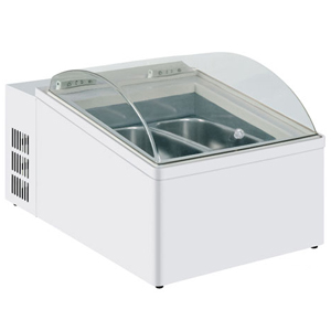 Mondial Elite Counter Top Scoop Ice Cream Display ICE 2V