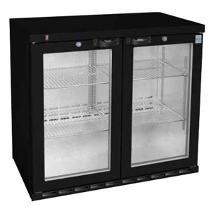 Osborne eCold 220ES Undercounter Hinged Door Bottle Cooler Black