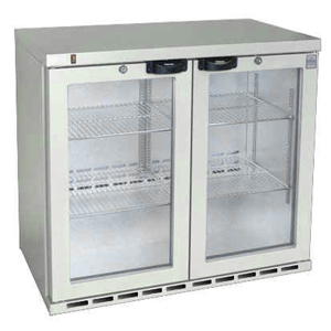 Osborne eCold 220ES Undercounter Hinged Door Bottle Cooler Stainless Steel