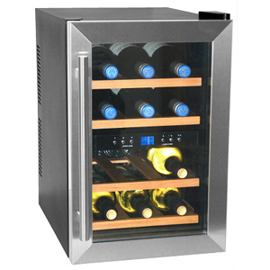 Caldura 12 Bottle Dual Zone Wine Cooler