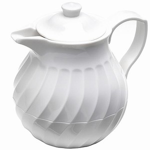 Connoisserve Tea Pot White 20oz / 0.6ltr