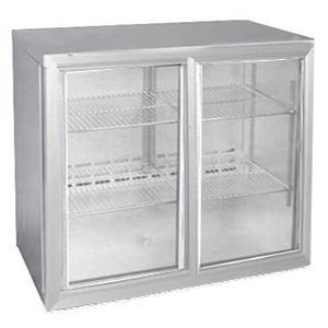 Osborne eCold 220ES Undercounter Sliding Door Bottle Cooler Silver