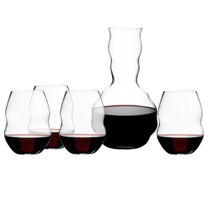 Riedel Swirl Red Wine Glasses & Decanter Gift Set