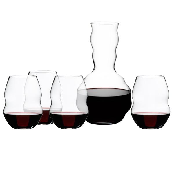 Riedel Swirl Red Wine Glasses Amp Decanter Gift Set