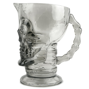 Acrylic Skull Pitcher 47.5oz / 1.35ltr