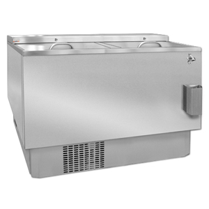 Gamko Slide Top Cooler STR375CS Stainless Steel