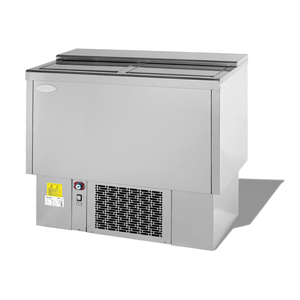 Infrico Front Bar Bottle Cooler EFP1000SS Stainless Steel