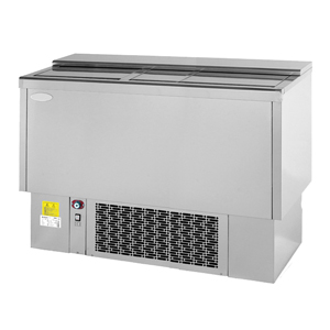 Infrico Front Bar Bottle Cooler EFP1500SS Stainless Steel