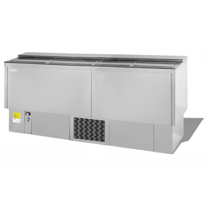 Infrico Front Bar Bottle Cooler EFP2000SS Stainless Steel