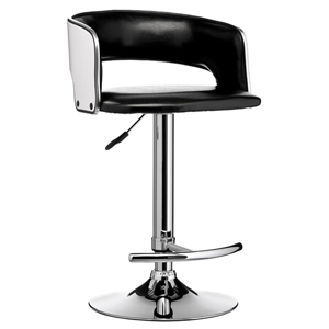 Vogue Wooden Bar Stool Black