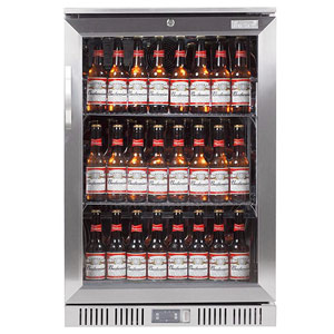 Lec efficienC BC6097ST Hinged Door Bottle Cooler Steel