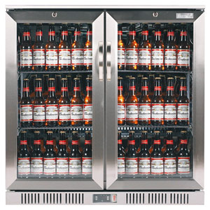 Lec efficienC BC9097ST Hinged Door Bottle Cooler Steel