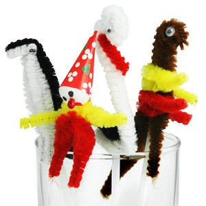 Fuzzy Cocktail Characters