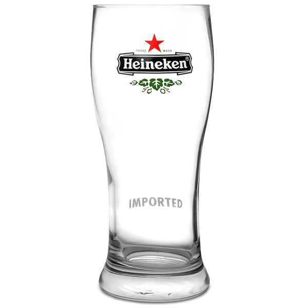 Heineken Pint Glasses LCE at 20oz / 568ml