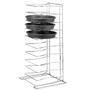 Pizza Pan Rack 11 Shelves