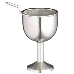 Bar Craft Stainless Steel Wine Decanting Funnel