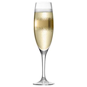 LSA Celeste Gold Champagne Flutes 7.4oz / 210ml