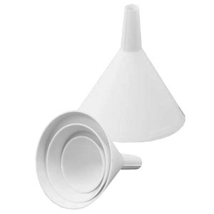 5 Piece Plastic Funnel Set