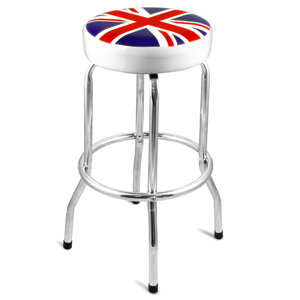 Union Jack Bar Stool