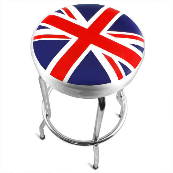 Union Jack Bar Stool Drinkstuff