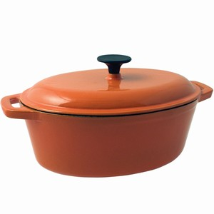 Celsius Oval Casserole Dish Orange 3.75ltr