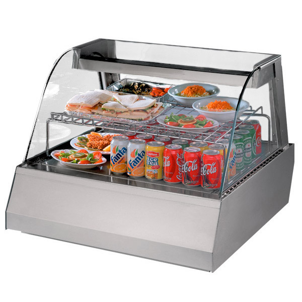 Blizzard Cold Counter Top Display COLD2E