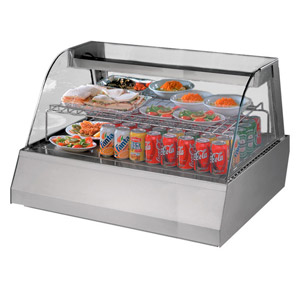 Blizzard Cold Counter Top Display COLD3E