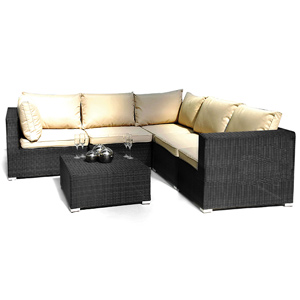 ES London Patio Corner Sofa Group