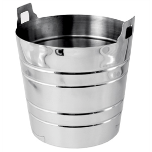 Stainless Steel Ribbed Wine Cooler