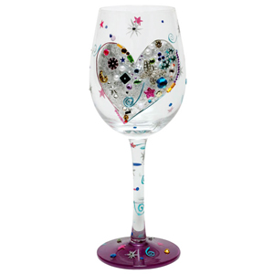Lolita Silver Lining Wine Glass 15.5oz / 440ml