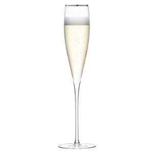 LSA Savoy Champagne Flutes Platinum 7oz / 200ml