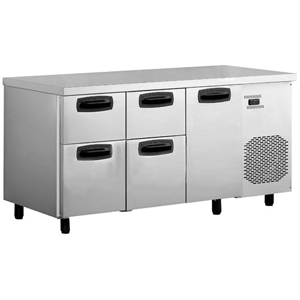 Inomak Refrigerated Counter with 4 Drawers