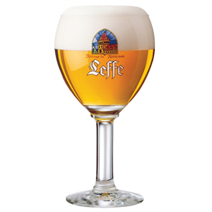 Leffe Half Pint Glasses 15oz LCE at 10oz