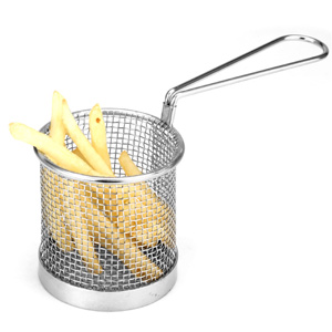 Stainless Steel Mini Presentation Chip Basket