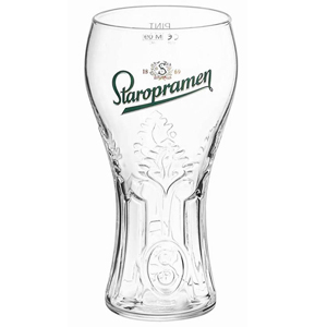 Staropramen Pint Glasses CE 20oz / 568ml