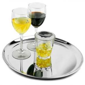 Stainless Steel Waiters Tray 12inch Case Of 24