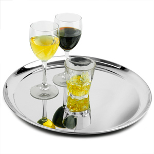 Stainless Steel Waiters Tray 16inch